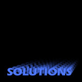 solutions 3d poster