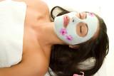 beauty mask poster