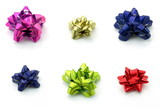 bows in different color poster