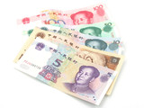 renminbi, the currency note of china poster
