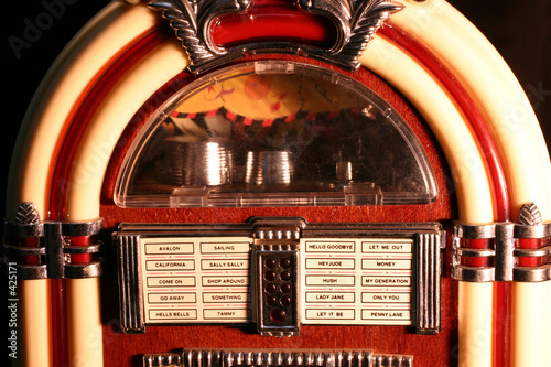 canvas print picture jukebox # 5