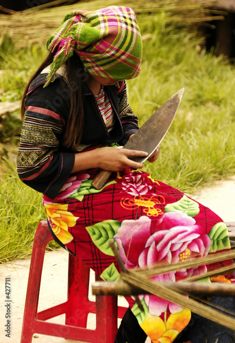 people of sapa in vietnam