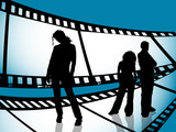film strip youth poster