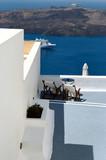 greek hotel poster