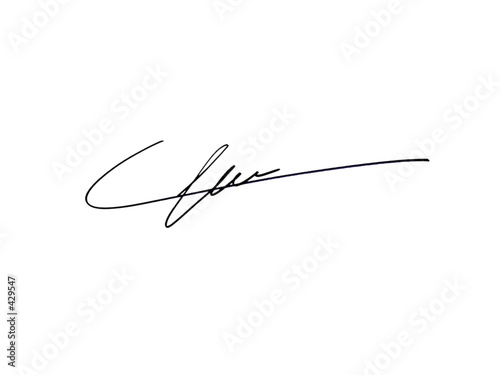 canvas print picture signature