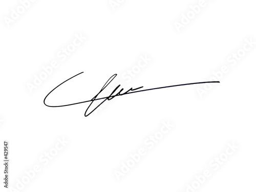 signature - 429547