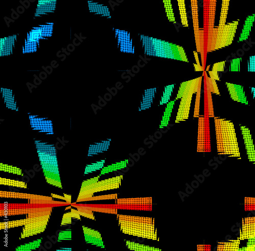 rainbow disco background