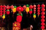 malaysia, kuala lumpur: chinese new year in the street poster