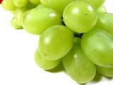 green grapes macro poster