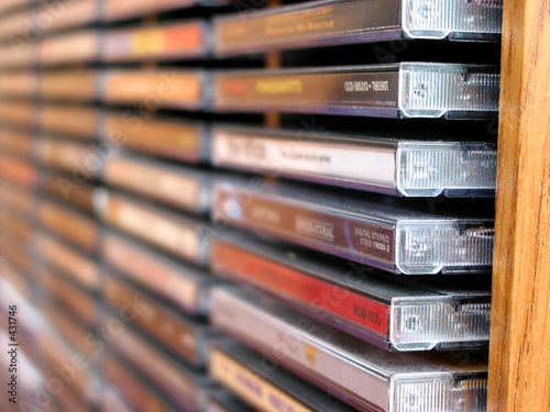 music cd stack - 431746