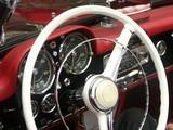 classic car steering wheel poster