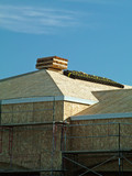 roofing material, roof poster