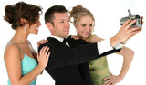 attractive young people in formals poster