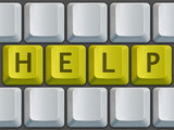 keyboard (help) poster