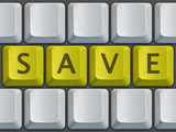keyboard (save) poster
