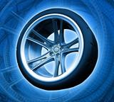 wheel kts (background) poster