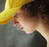 girl in a cap - 4 poster