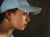girl in a cap - 1 poster