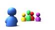 little icon team - multicoloured