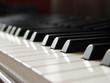 Leinwanddruck Bild - klavierflügel