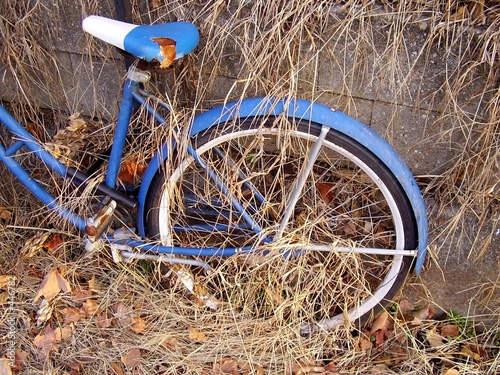 decayed bicycle