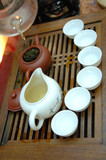 chinese tea preparation step 5 poster