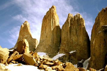 national park torres del paine