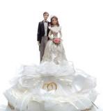 top of wedding cake poster