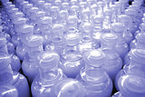 plastic bottles (texture) poster
