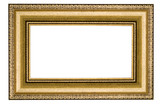 square classic frame poster
