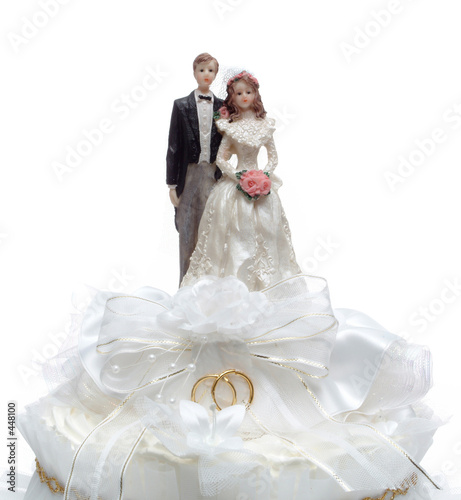 poster of top of wedding cake