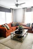 modern living room poster