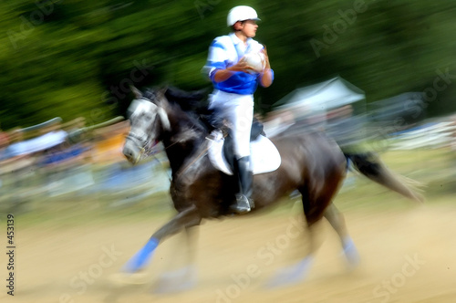 Keuken foto achterwand Paardrijden horseball
