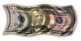 fifty dollar bill poster