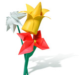 origami - artificial paper flowers