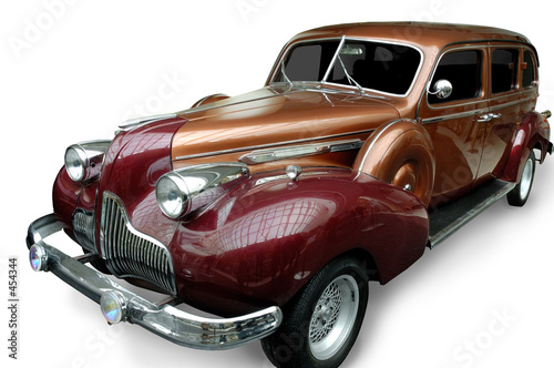 Foto op Plexiglas Oude auto s car 2 (isolated)