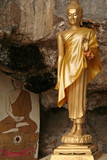 cave buddha poster