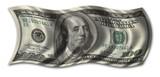 hundred dollar bill poster