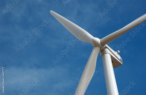 canvas print picture wind mill