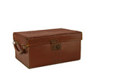 old brown leather box case poster