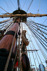 pirate's ship mast