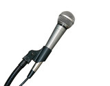 microphone in stand poster
