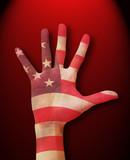 patriotic theme poster