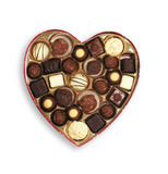 heart shaped candy poster