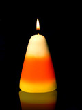 candy corn candle poster