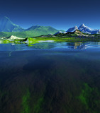 beautiful landscape - Fine Art prints