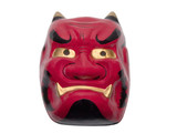 japanese mask-clipping path poster
