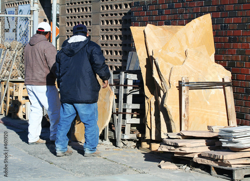 brick and stone workers