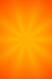 orange star abstract background poster