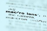 macro lens poster